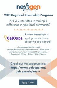2021 Regional Internship Program